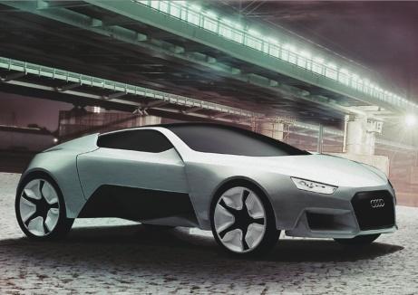 Дизайнерский набросок концепта Audi