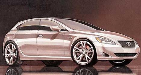 Новый компактный Lexus