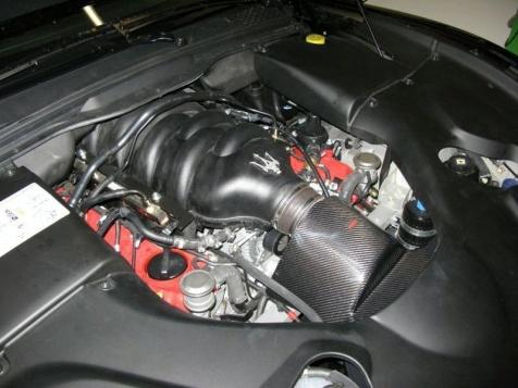 Novitec Tridente GranTurismo S engine