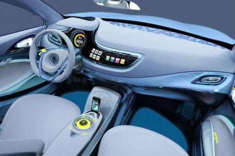 Renault Fluence Zero Emissions Concept interior