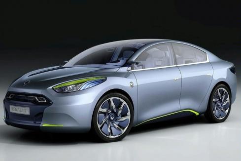 Renault Fluence Zero Emissions Concept