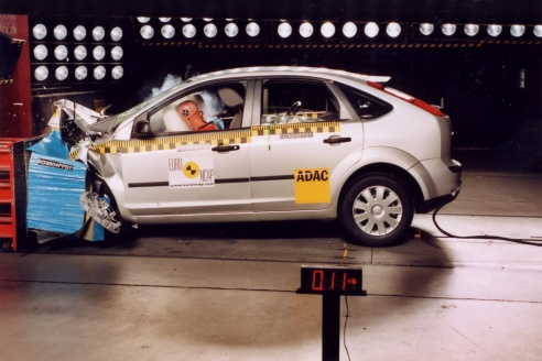 Crash test Ford Focus 2004