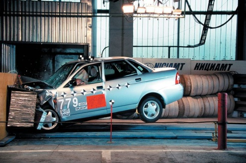 Lada Priora Crash Test Lada Priora Crash Test