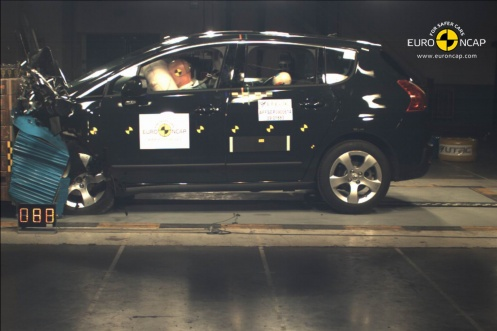 Peugeot 3008 crash test 2009
