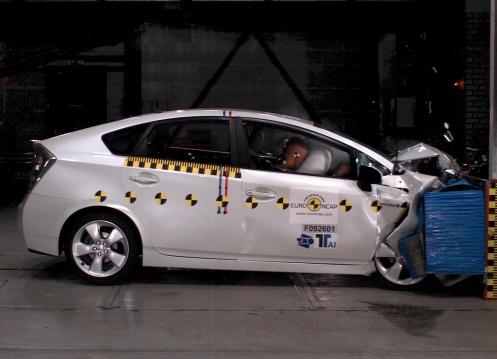Toyota Prius crash test