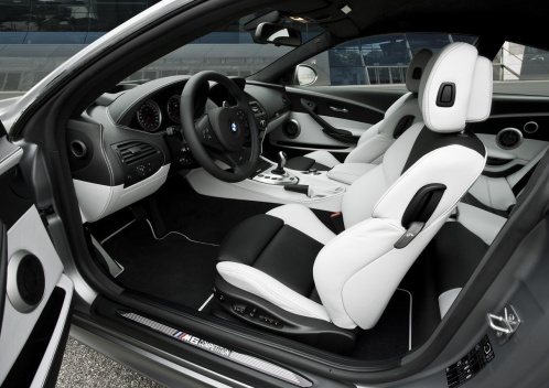 BMW M6 Competition Limited Edition interior