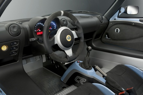 Lotus Elise Club Racer interior