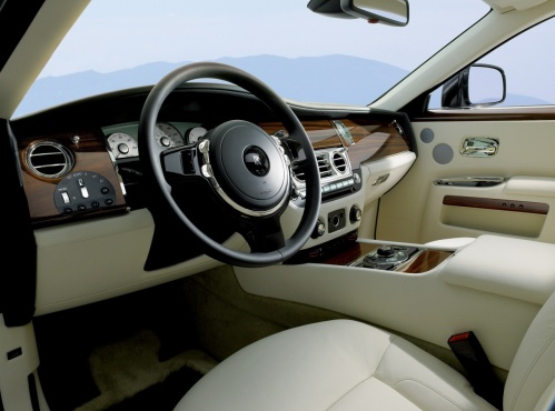Rolls Royce Ghost 2010 interior