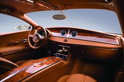Bugatti 16C Galibier concept interior