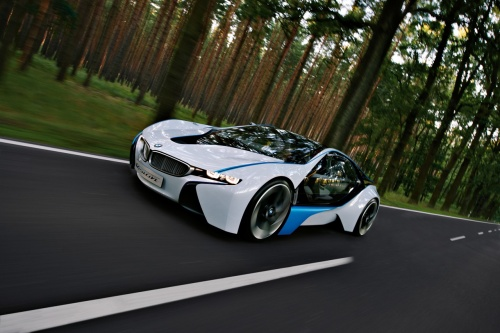 BMW Vision EfficientDynamics turbodiesel plug-in hybrid concept