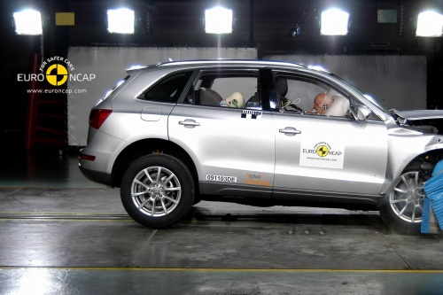Crash test Audi Q5 euroncap