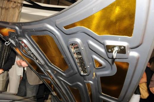 Aston Martin One-77 hood