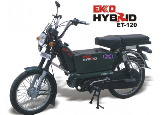 Мотоцикл Eko Hybrid ET-120 от Eko Vehicles