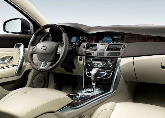 Renault Samsung SM5 2010 interior