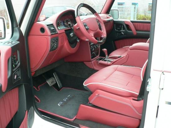 A.R.T. G Streetline Mercedes-Benz AMG interior