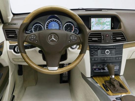 Mercedes CLS Shootingbrake interior