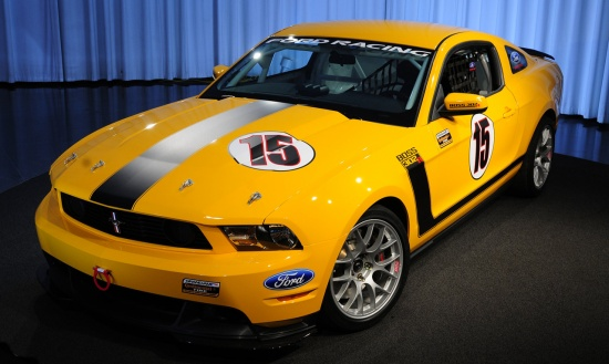 Ford Boss 302R 2011
