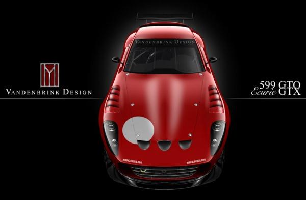 Vandenbrink Ferrari 599 GTB Ecurie GTX