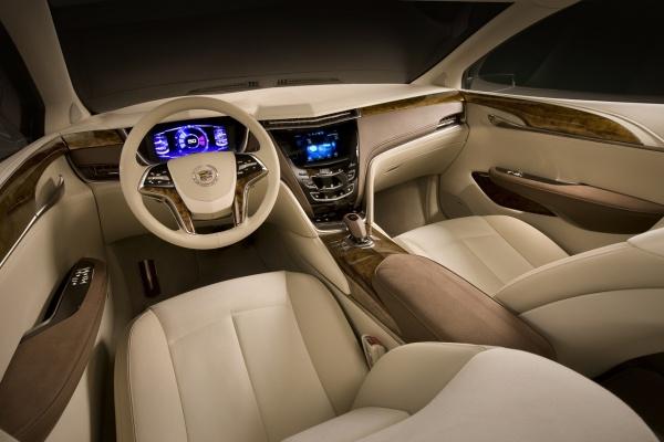 Cadillac XTS Platinum concept салон