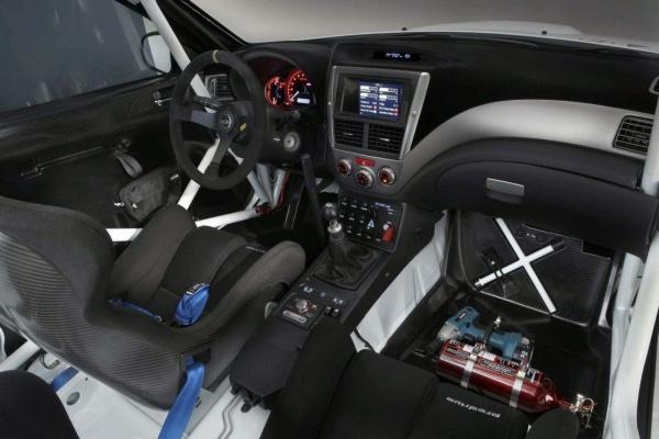 Prodrive Subaru Impreza N2010 салон