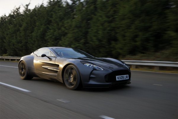 Aston Martin One-77 Supercar