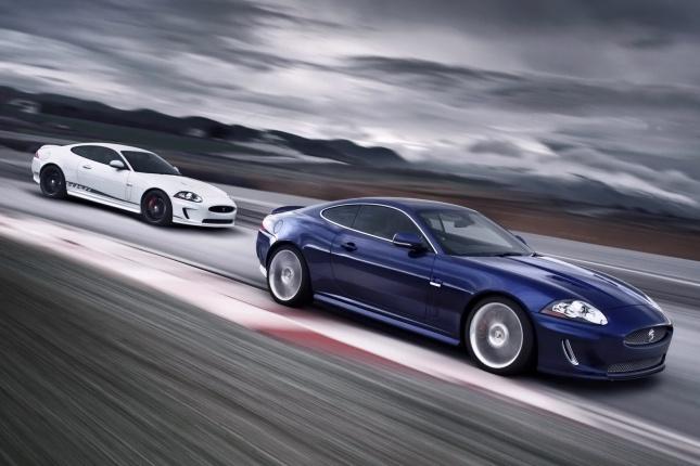 Jaguar XKR 2011 Speed и Black