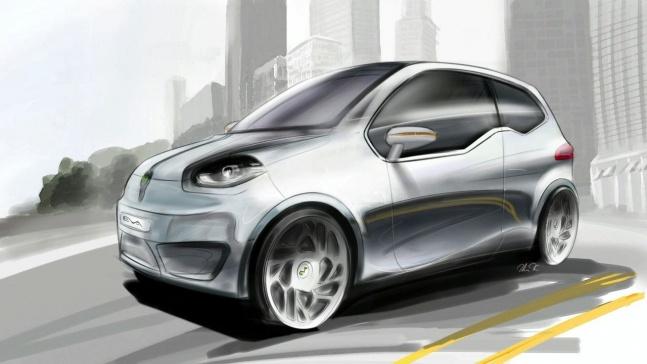 Электрический концепт Eva от Valmet Automotive