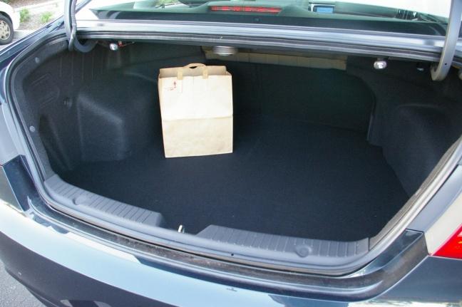 Багажник Hyundai Sonata 2011