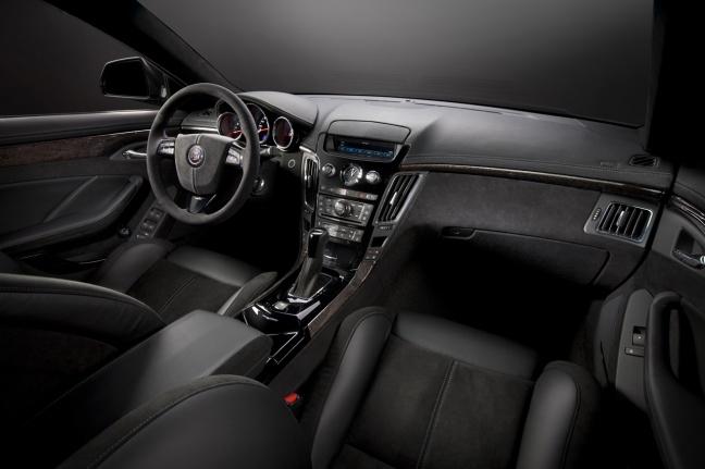 Cadillac CTS-V Sport Wagon interior