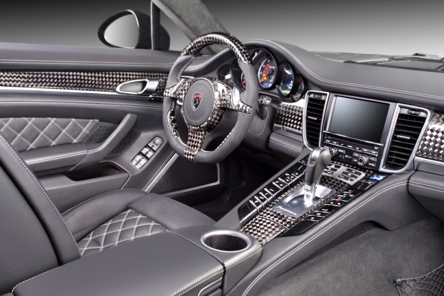 Интерьер Porsche Panamera Stingray от TopСar