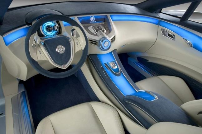 Buick Riviera Concept interior
