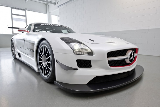 Mercedes SLS AMG GT3 Race Car Version
