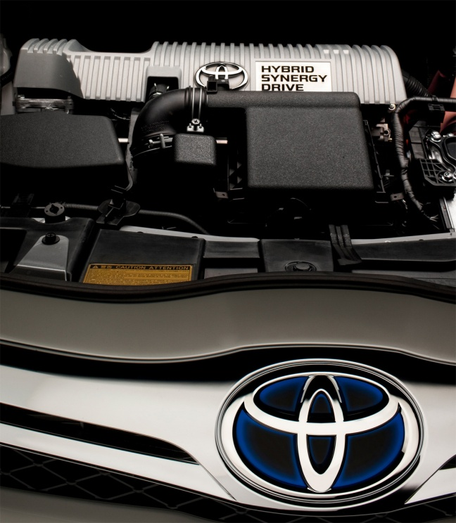 Toyota Auris HSD engine