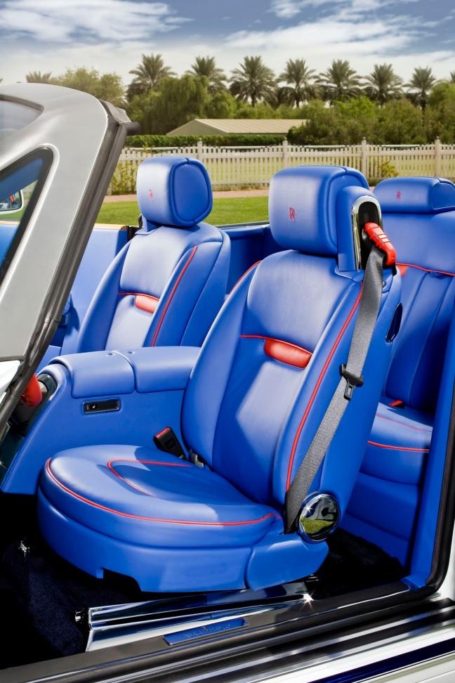 Rolls-Royce Yas Eagle Limited Edition 2010 interior