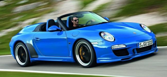 Объявлена российская цена на Porsche 911 Speedster