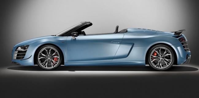 Представлена новая Audi R8 GT Spyder