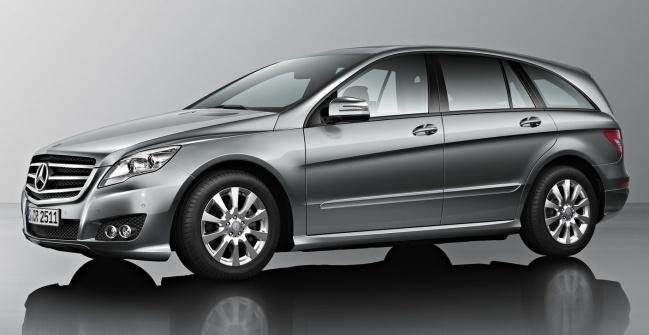 На автосалоне в Москве пройдет российский дебют нового Mercedes-Benz R-Class