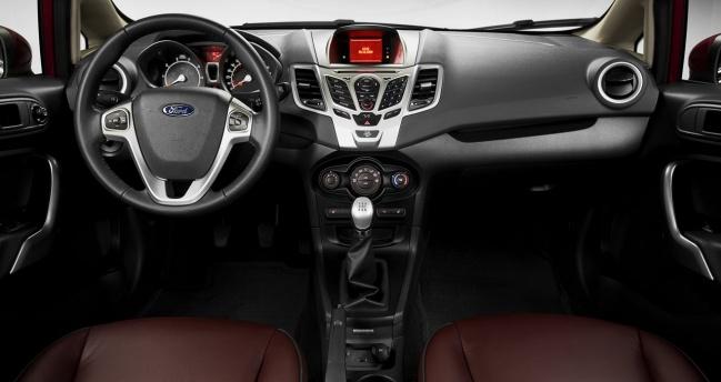 2011 Ford Fiesta US-spec