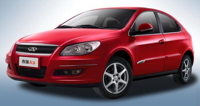 В Украине стартовали продажи Chery A-13 и Chery M-11