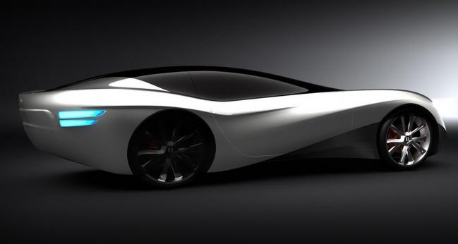 Новый концепт от Bentley Commissions RCA