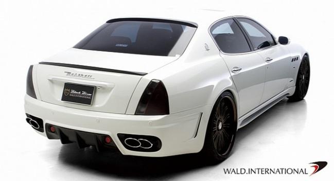 Maserati Quattroporte Black Bison Edition от Wald International