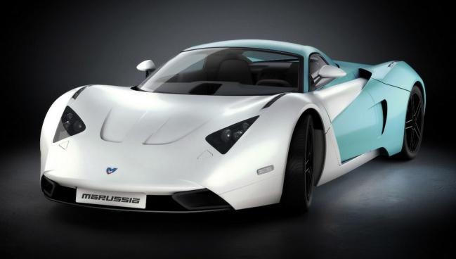 В Москве запущено серийное производство российских суперкаров Marussia