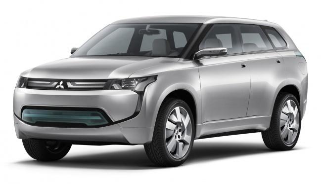 Mitsubishi Concept PX-MiEV покажут на ММАС-2010