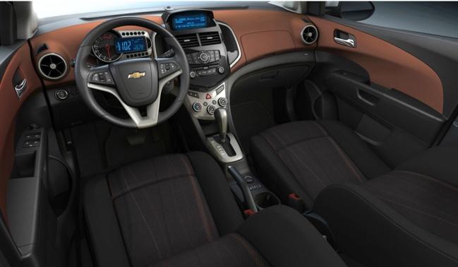 Chevrolet Aveo 2012 interior