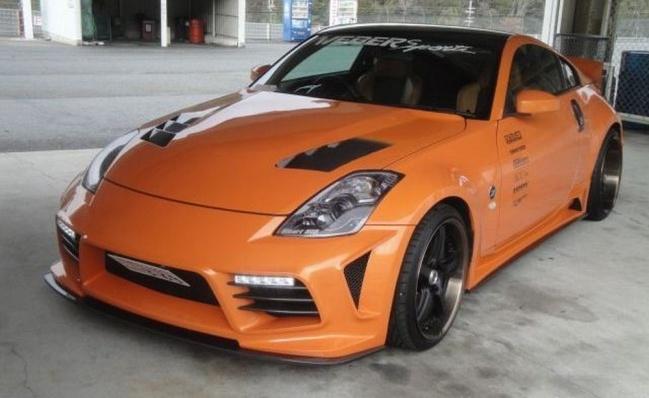 Nissan 350Z 2011 от WEBER Sports