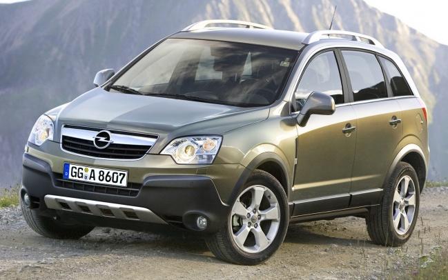 Российский Opel Antara существенно подешевел