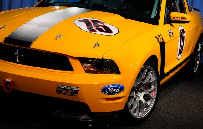 2011 ford boss 302r