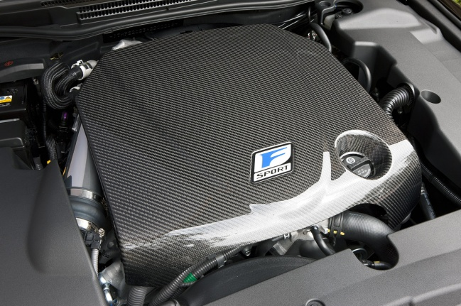 Lexus IS350C F-Sport Special Edition engine