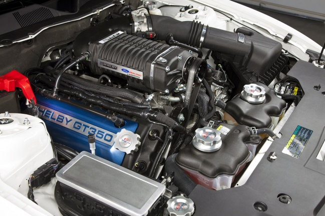 Двигетель GT350 от Shelby