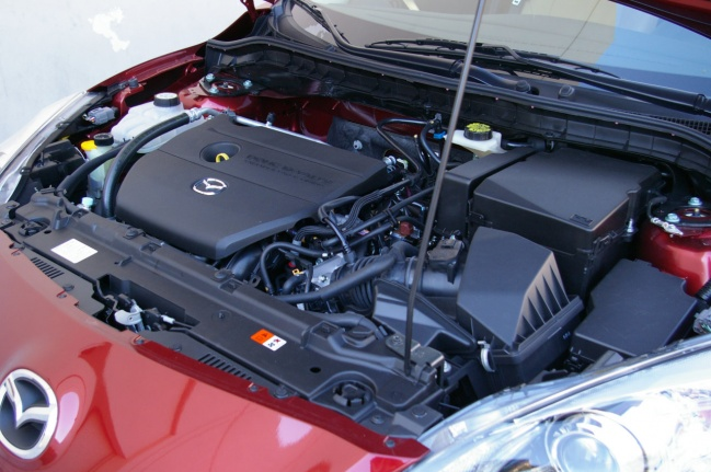Мотор Mazda3 2009